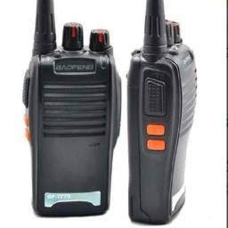 Rádio Comunicador Walk Talk Baofeng Kit Com 4 Unidades