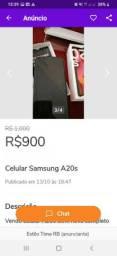 Samsung A20S novinho
