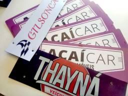 Cobre Placa Para Carro ou Moto Atendemos toda Santa Catarina