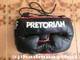 Protetor Cabeça Capacete Boxe Muay Thai MMA