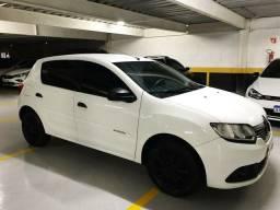 Renault/SANDERO AUTHENTIQUE 1.0 16V HI-Flex- ANO2016/2017- 69 mil km