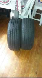 Vende se 2 pneus usados 185/55 R15