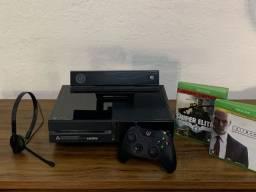 Xbox One Completo Kinect e Head Seat