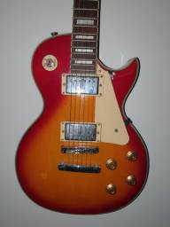Guitarra Les Paul Lps-230 Cherry Sunburst Strinberg usada em estado de novo