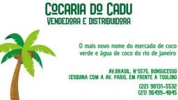 Coco Verde e água de coco