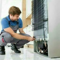 Conserto ar condicionado, máquina de lavar e geladeira