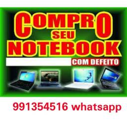 Compr notebook com defeitos