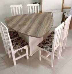 Mesa de 6 lugares