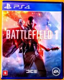 Jogo De Videogame Battlefield 1 Para Sony Playstation 4 (PS4), Original