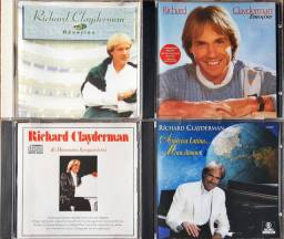 CDs RICHARD CLAYDEMAN originais