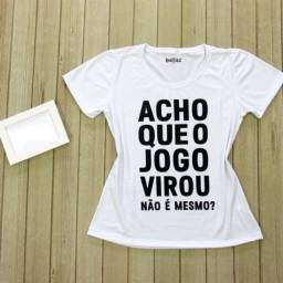 T-shirts e cropped