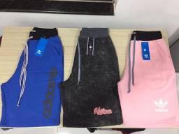 Bermudas Moletons Adidas, Nike 50,00