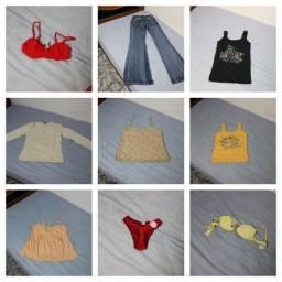 42 peças de roupas novas