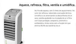 Climatizador consul com função de umidificar e aquecer