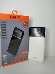 Carregador Portátil Kaidi original de 10000 com frete grátis e garantia de 90 dias