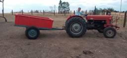 Carreta agrícola 2 rodas vasculante