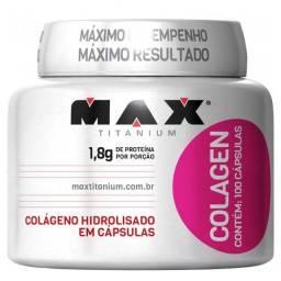 Colagen 100 cápsulas Max titanium