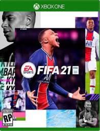 FIFA 21 XBOX ONE 50 REAIS midia digital