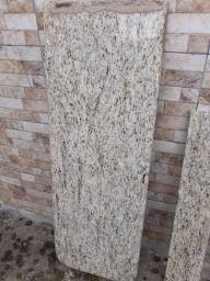 2 pedras de Mármore bege, para balcão de  cozinha amricana.