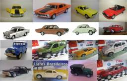 Miniaturas Carros clássicos nacionais brasileiros