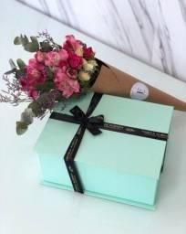 Caixa doces - O presente para a mamãe e Sobremesa na taça
