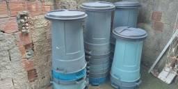 Vendo tambores de lixo