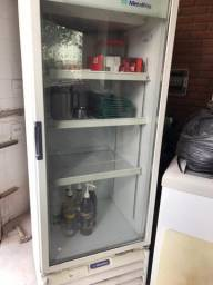Refrigerador metalfrio com porta de vidro