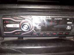 Rádio ,bluetooth, pen drive, auxiliar