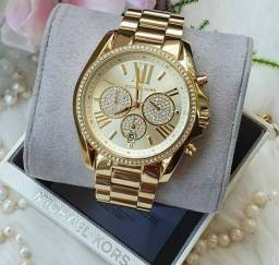 Relógio Michael Kors MK 6538 Original - Ganhe um Bracelete feminino!