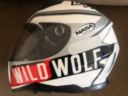 Capacete wild wolf