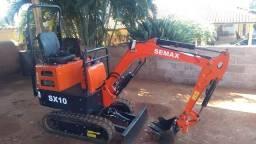 Oportunidade: Mini escavadeira 2020 semi nova