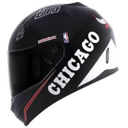 Capacete Norisk Edição especial NBA Chicago Bulls