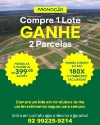 Lotes prontos para construir no Bairro planejado  - Nova Amazonas