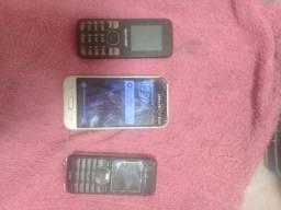 Vendo 3 aparelhos celular