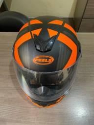 Barbada capacete Peels escamoteado