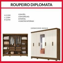 Guarda roupa diplomata