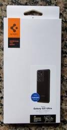 Capa Spigen Ultra Hybrid Samsung Galaxy S21 Ultra - Original