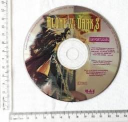 Raro - CD de Jogos - Brinde Revista de Games - Alone In The Dark - Mídia Física - Usado