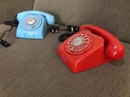 Telefone Disco Retrô restaurado - unidade