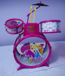 Bateria infantil da Barbie