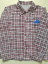 Camisa caipira Tam 6