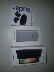 A52 5G + Buds+ + bateria externa 10000mah