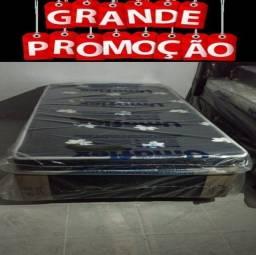 Título do anúncio: Cama Box mais colchão solteiro completo novo a pronta entrega