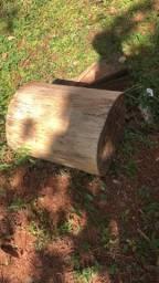 Toco madeira / tronco madeira