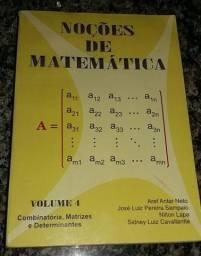 Noções de Matemática Volume 4.