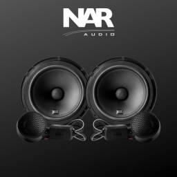 Alto falante Kit 2 vias NAR 525-CS-1 ( 5 Pol / 100w Rms ) Alta Qualidade Sonora
