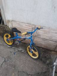 Bicicleta aro 16 super man