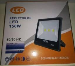 Refletor Led 150w 3500k Novo<br>Bivolt