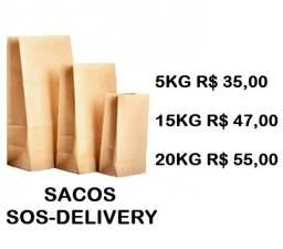 Sacos sos- delivery  c/100  preços de qualidade...
