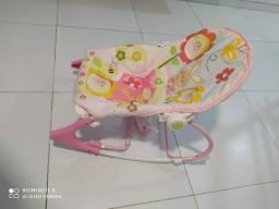 Cadeira vibratória fisher price toca e vibra